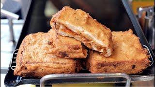 60년 어묵개발의 고수! 어묵으로 만든 샌드위치토스트/…