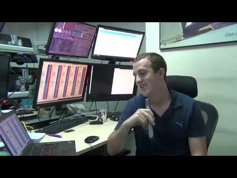 Interview de Vincent, Trader / Scalper, sur le floor de Dubaï Professional Traders