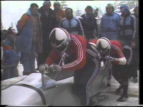 1984  Games Sarajevo 4man  run 1
