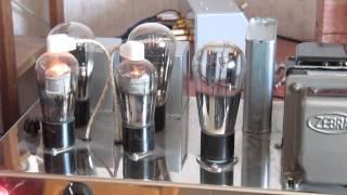 47 tube amplifier triode mode