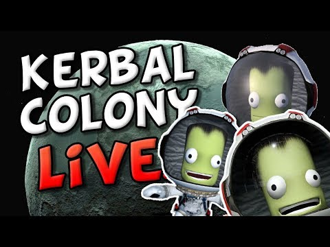 BUILDING MINMUS BASE - Colonizing Kerbal Space Program with Kerbalism and Planetary Bases