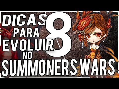 8 DICAS PARA EVOLUIR RÁPIDO NO SUMMONERS WARS !