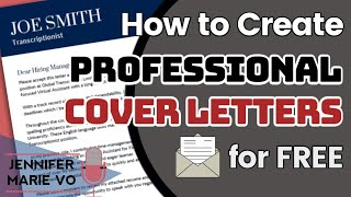How To Make A Cover Letter For A Resume For FREE: Cover Letter Format, Templates And Samples!