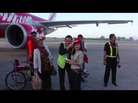 Penerbangan Perdana Medan - Jakarta (7 Juni 2013)