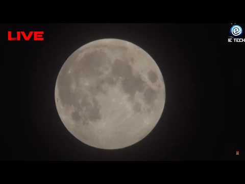 Penumbral Lunar Eclipse | Moon Eclipse Live Stream | Lunar Eclipse LIVE 5th - 6th June 2020