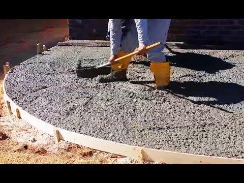 Залить дорогу бетоном бетона газосиликатные