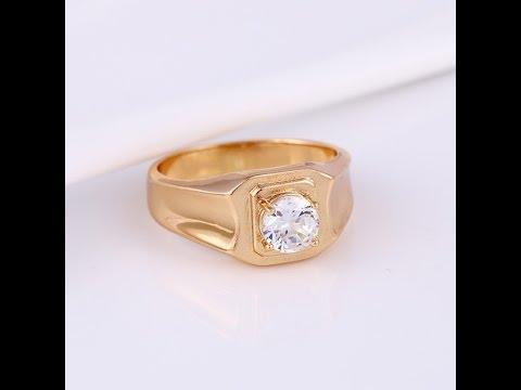 Перстень печатка мужская медицинское золото кольцо womencity Signet gold mens health