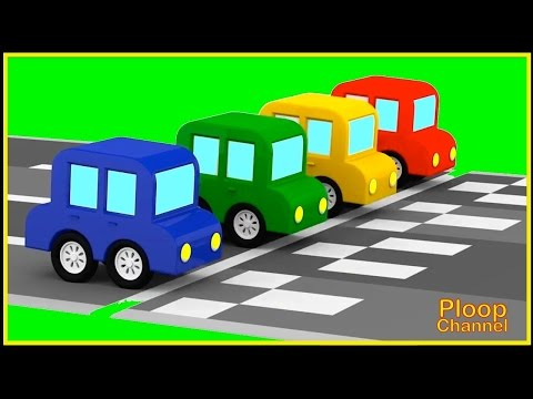 Cartoon Cars - CRAZY SHOOTING RACE! - Cartoons For Kids - Childrens Animation Videos For Kids