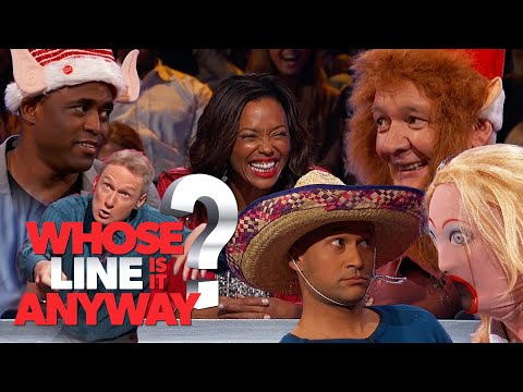 PROPPING To The EXTREME - Props And Questions (MegaComp) | Whose Line Is It Anyway?