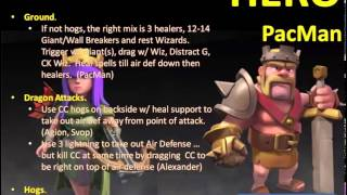 Clash of Clans -- Hero and the Goat -- JTJ's war vs bOOtySniffers (06/117/14)