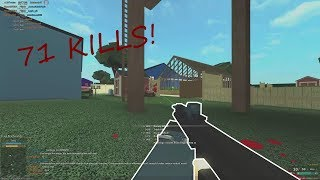 Roblox: Phantom Forces Shotgun Gameplay (71 Kills, No Commentry)