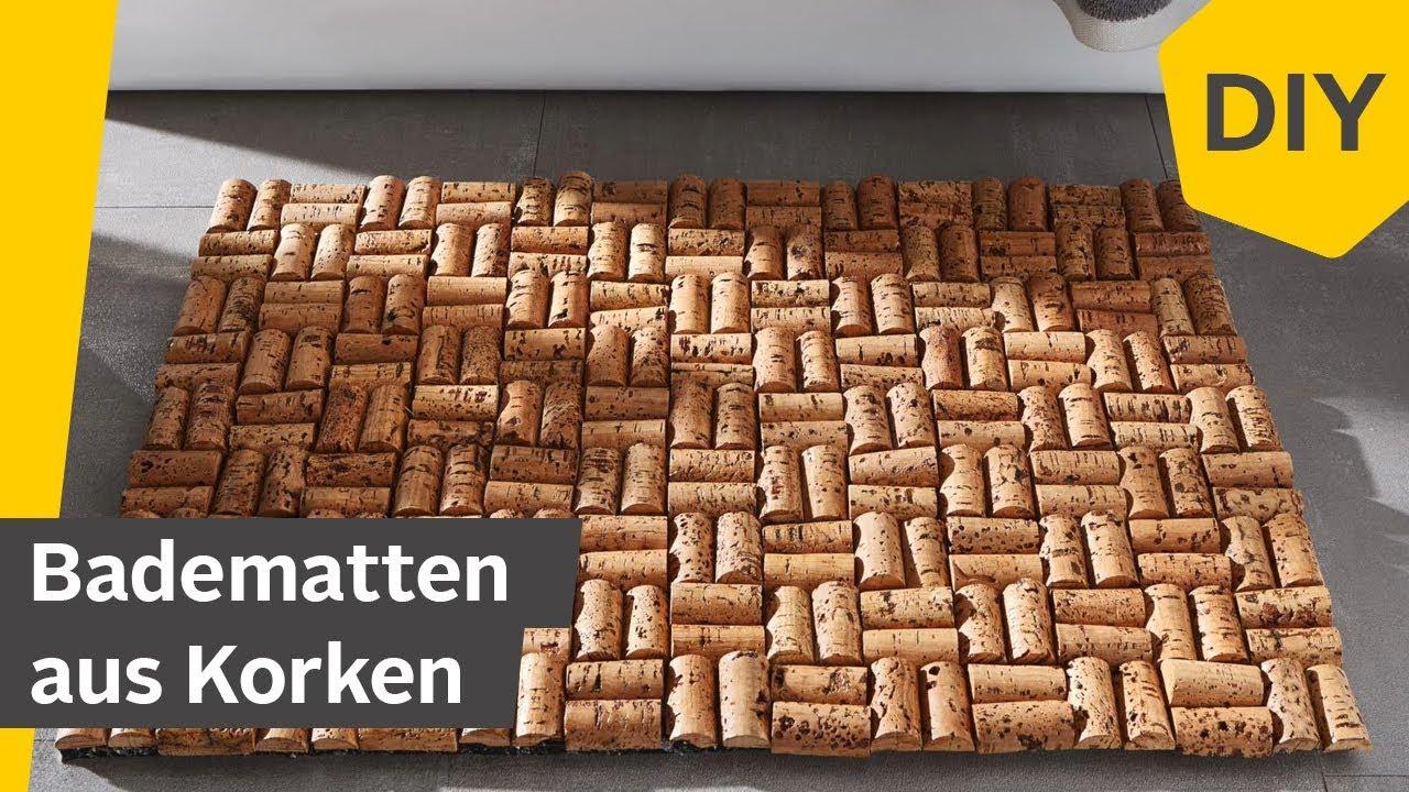 DIY: Badematte aus Korken für\'s Badezimmer selber machen | Roombeez –  powered by OTTO