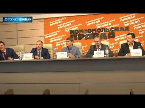 Пресс-конференция Общественной палаты по новой транспортной схеме Дзержинска