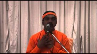 Chinmaya Mission Pledge Talks by Swami Mitrananda - Talk 4