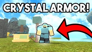 NEW CRYSTAL ARMOR, BOWS, RADIOS! | ROBLOX: Booga Booga