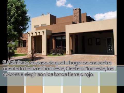 Como pintar la fachada de tu casa seg n el feng shui youtube for Casas feng shui arquitectura