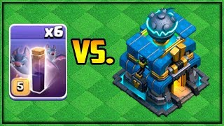 MAX Bats vs. MAX Town Hall 12 - Clash of Clans - Fix That Rush Episode 61