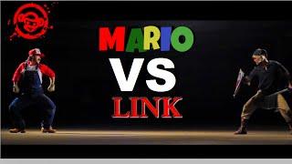 Live Action Super Smash Bros Mario vs Link
