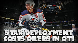 Dave Tippett Costs Oilers OT Loss VS Sabres | Edmonton Oilers vs Buffalo Sabres Review