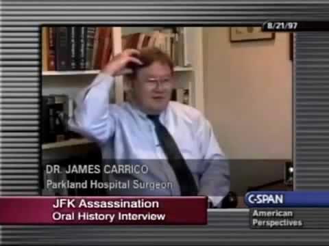 JFK Assassination ~ Parkland Hospital Dr. Carrico