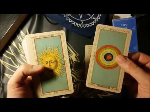 "Обзор колоды ""Таро Эттейлы"". Самые старые карты."