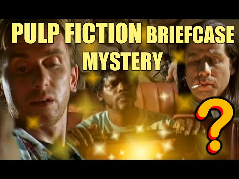 PULP FICTION briefcase mystery revealed ???