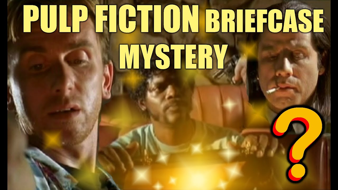 pulp fiction briefcase mystery revealed youtube. Black Bedroom Furniture Sets. Home Design Ideas