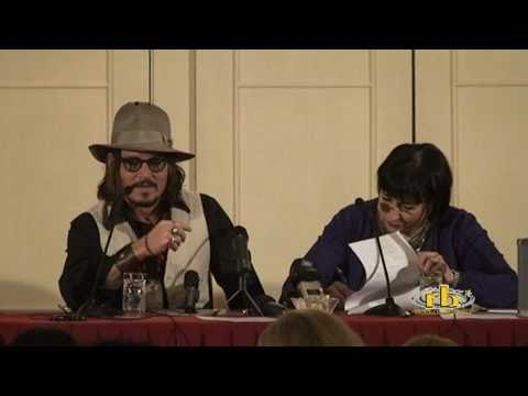 THE TOURIST - conferenza stampa con Johnny Deep - WWW.RBCASTING.COM