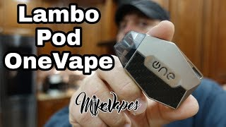 Do I Love it? Lambo Pod System By OneVape - Mike Vapes