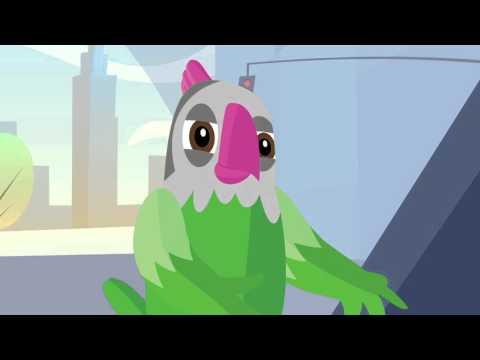 Meet Mel - the tawk.to bird.
