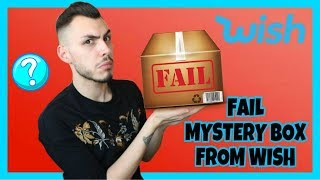 ΤΟ ΠΙΟ FAIL MYSTERY BOX ΑΠΟ ΤΟ WISH | Tsede The Real