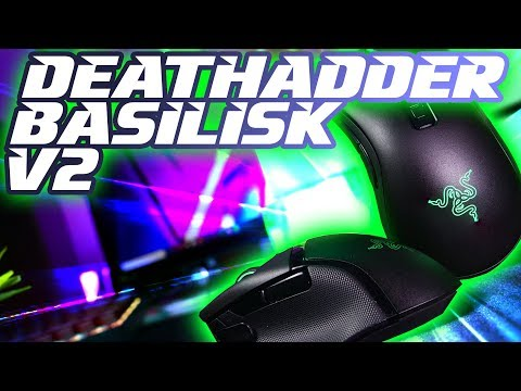 Razer Deathadder V2 & Basilisk V2: Adds the FEATURES, cuts the WEIGHT