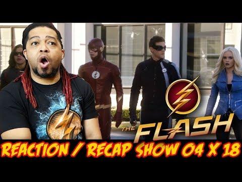 The Flash Season 4 Episode 18 Reaction & Recap Show