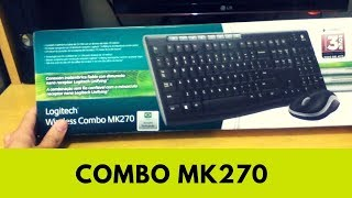 Kit Logitech Wireless Combo MK270 - Review