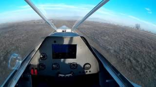 SF-1 Archon Light Sport Aircraft - In-Cockpit Video