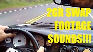 toyota mr2 2gr fe 3 5 liter v6 swap road footage 2