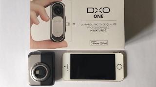 DxO One - Unboxing