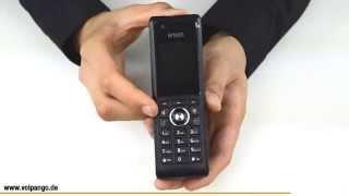 snom M85 VoIP DECT Telefon Review / Unboxing | voipango.de