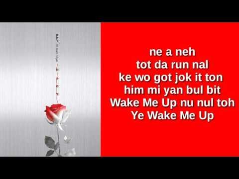 B.A.P - WAKE ME UP (EASY LYRICS)