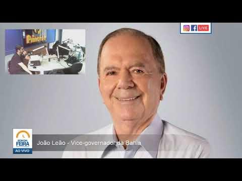 'Se ele disser que sim, está resolvido', diz João Leão de Roque Eudes como vice de Zé Neto em Feira