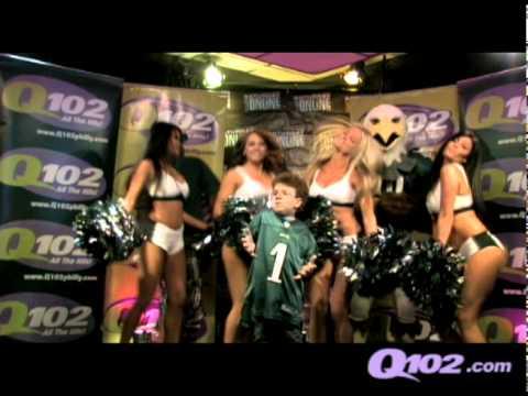 Last Friday Night(With Me, Philadelphia Eagles Cheerleaders, Swoop & Q102's Maxwell)