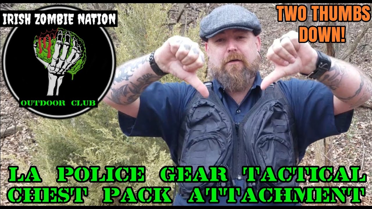 NEW! LA Police Gear Tactical Chest Pack Attachment - A Big Disappointment