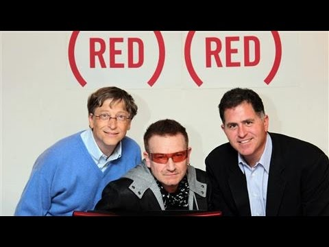Bill Gates and Bono Team Up to Fight AIDS