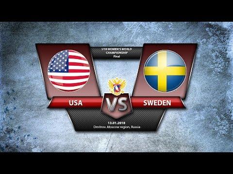 WW U18. GMG USA - Sweden
