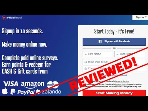 Is PrizeRebel a Scam? 2019 Updated Review!