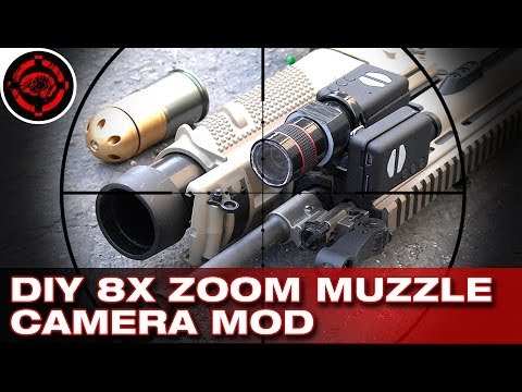 diy build an 8x zoom muzzle camera shooting mobius. Black Bedroom Furniture Sets. Home Design Ideas