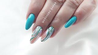 Волшебные блестки для волшебного дизайна ногтей Летний маникюр Шулунова Дарья