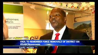 Vigil to remember force removals of District Six