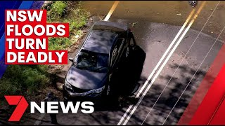 A Pakistani man died in the Sydney floods today | 7NEWS