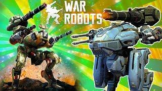 ВОЙНА РОБОТОВ видео для детей про сражения роботов МОИ ПЕРВЫЕ БОИ игра про роботов War Robots FGTV